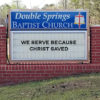 Church Sign - October 7, 2018