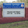 Church Sign - October 31, 2018